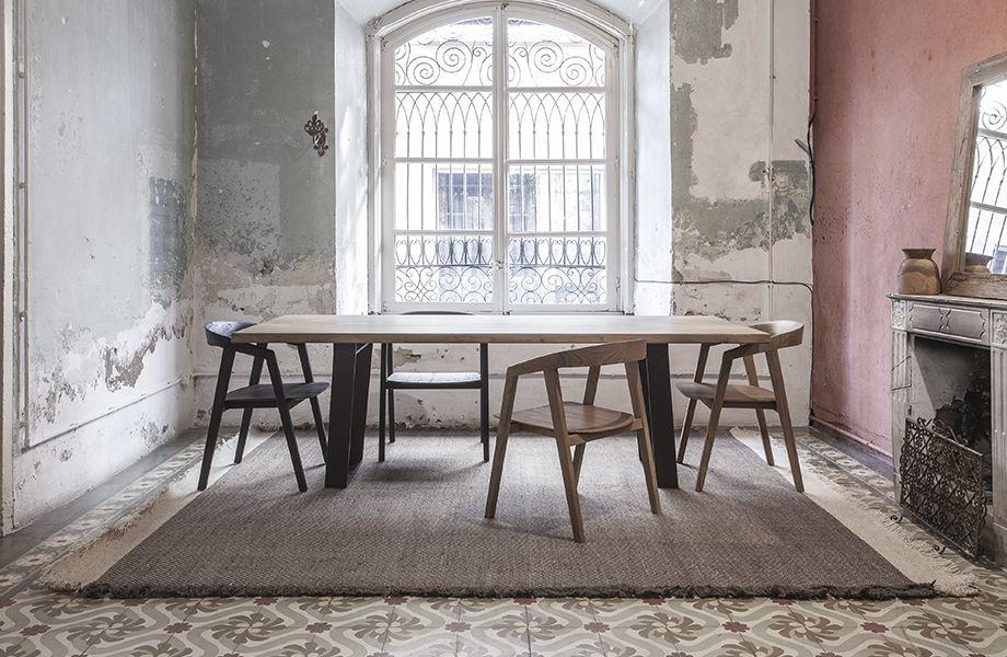 Dareels Dinning Chair ARC in teak - 56x57xh76cm - Natural - Dareels