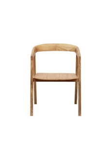 Dareels Dinning Chair ARC in teak - 56x57xh76cm - Natural - Dareels