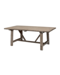Snowdrops Copenhagen Dining room table recycled elm wood - 220x100xh78H