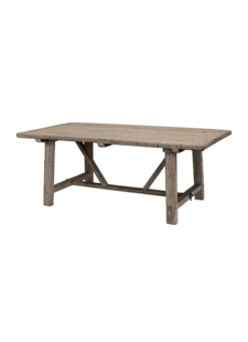 Snowdrops Copenhagen Dining room table recycled elm wood - 220x100xh78H - unique item