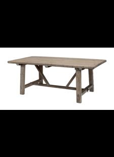 Snowdrops Copenhagen Table de salle à manger bois d'orme - 220x100xh78H