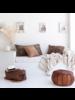 Petite Lily Interiors Cojín marroquí seda - Cafe Oblong