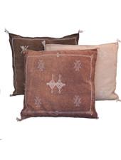 Petite Lily Interiors Housse de Coussin Marocain soie - Blush Oblong