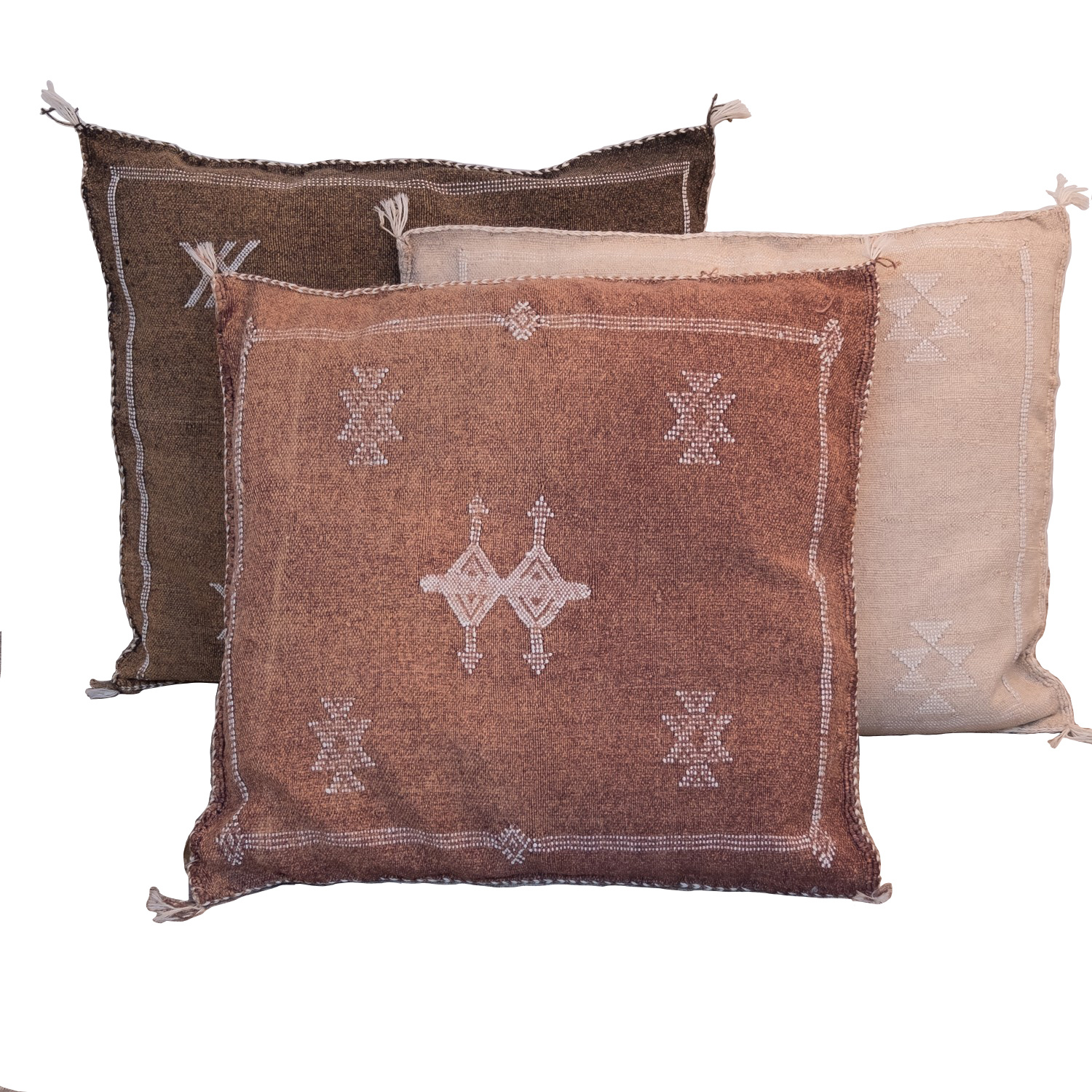 Petite Lily Interiors Moroccan Silk Cushion cover - Blush Oblong