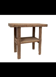 Petite Lily Interiors Table console vintage en Bois d'orme - 101x48xh90cm
