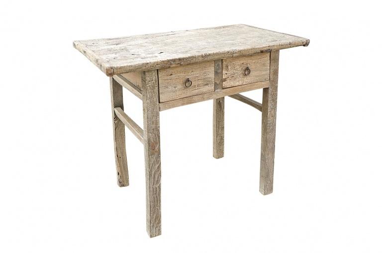 Mesa Consola  - madera cruda - 95x53xh82cm - pieza única