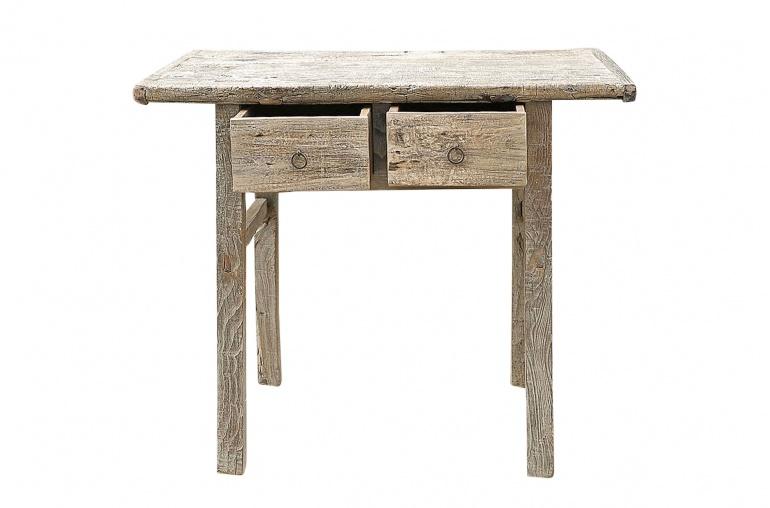 Snowdrops Copenhagen Console table / Desk - recycled wood - 95x53xh82cm - unique piece