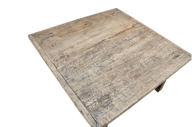 Snowdrops Copenhagen Coffee table lounge - raw wood - 96x93xh45cm - Unique item