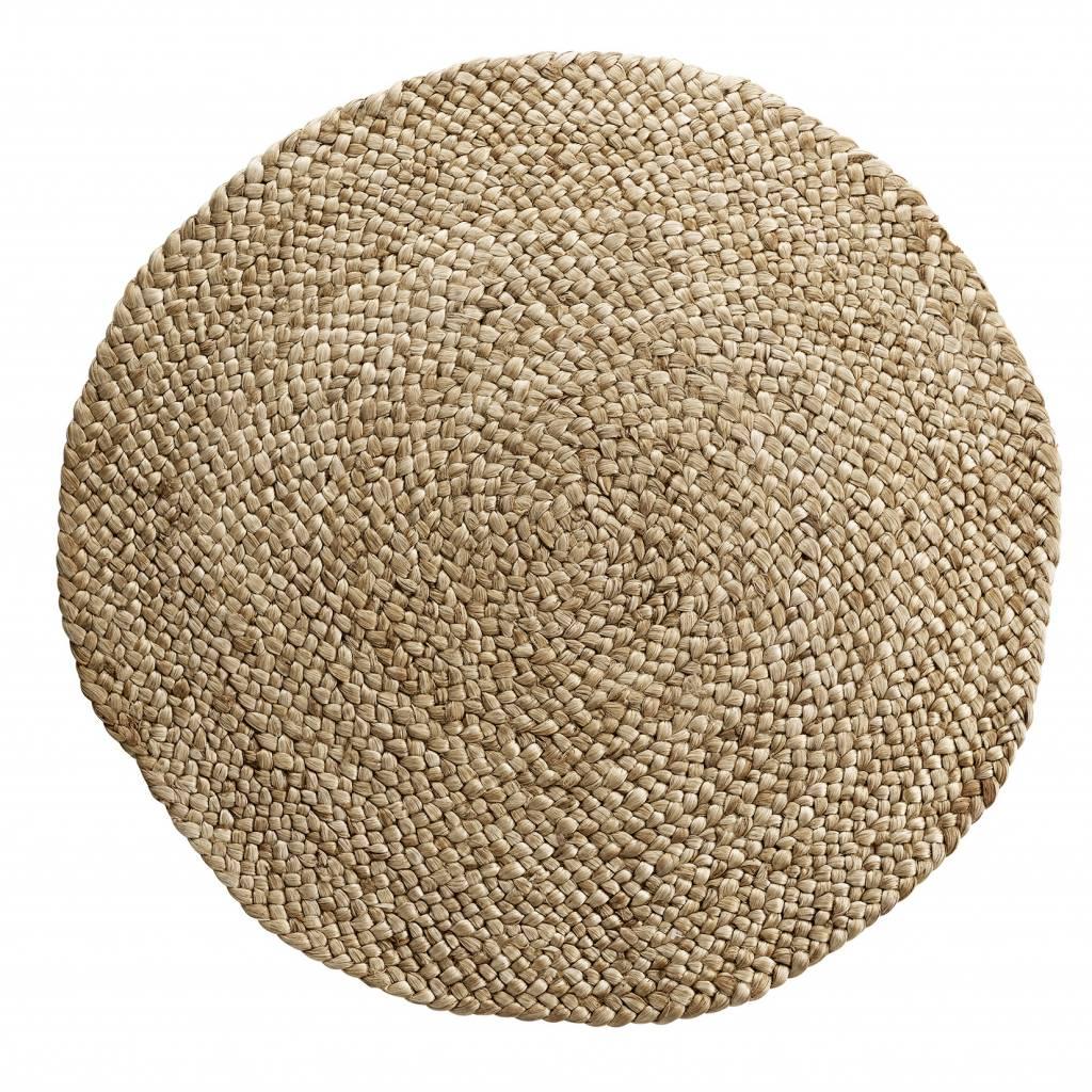 TineKHome Round rug jute hemp - natural - Ø180cm - Tine k Home