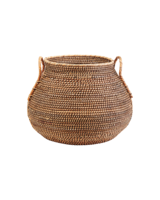 Bloomingville Basket Azeema in rattan - Ø50xH39cm - natural - House Doctor