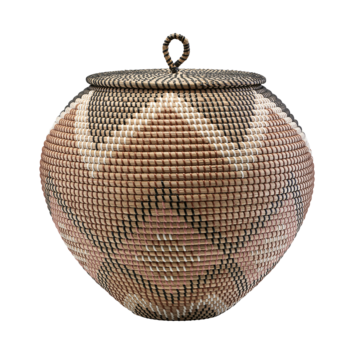 House Doctor Basket Tau - Ø45xH40cm - natural - House Doctor