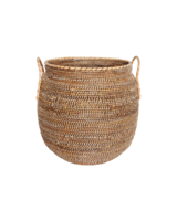 Bloomingville Basket Azeema in rattan - Ø53xH64cm - natural - House Doctor