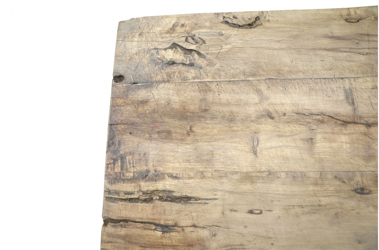 Petite Lily Interiors Raw wood coffee -145x71xh40cm - Walnut