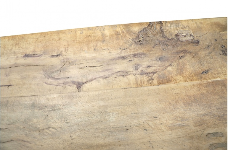 Petite Lily Interiors Raw wood coffee -155x61xh40cm - Walnut