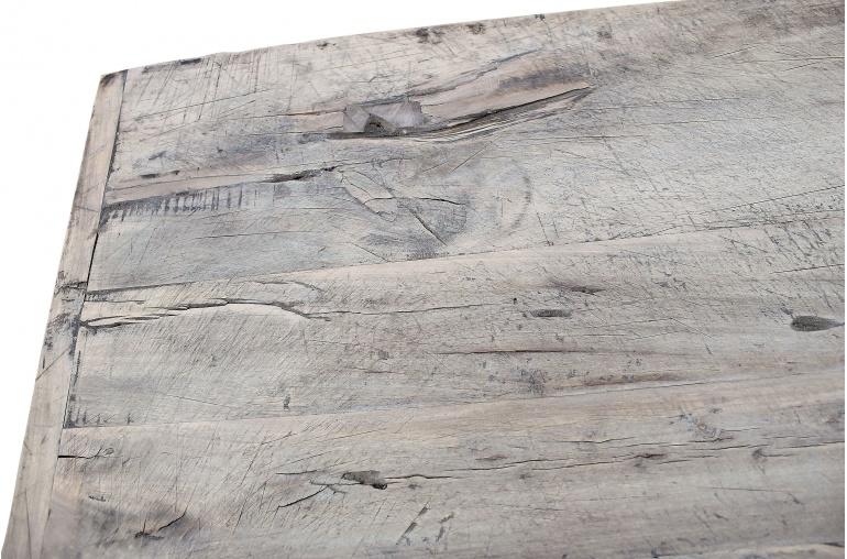 Petite Lily Interiors Raw wood coffee -140x58xh42cm - Walnut