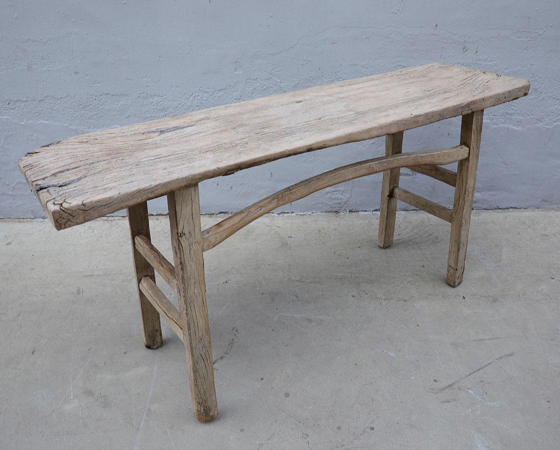 Petite Lily Interiors Console table Vintage - 173x47xh80cm - unique product - elm wood