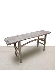 Petite Lily Interiors Table console vintage en Bois d'orme - 173x47xh80cm