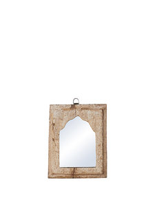 Petite Lily Interiors Wooden mirror India - W20xD3xH24cm - Unique Item