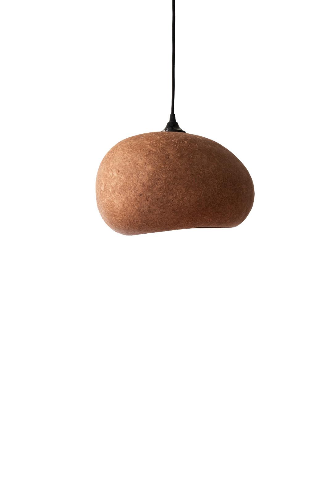 Ay Illuminate Terracotta pendant Lamp M - recycled carton - 36x27x19cm - Ay illuminate