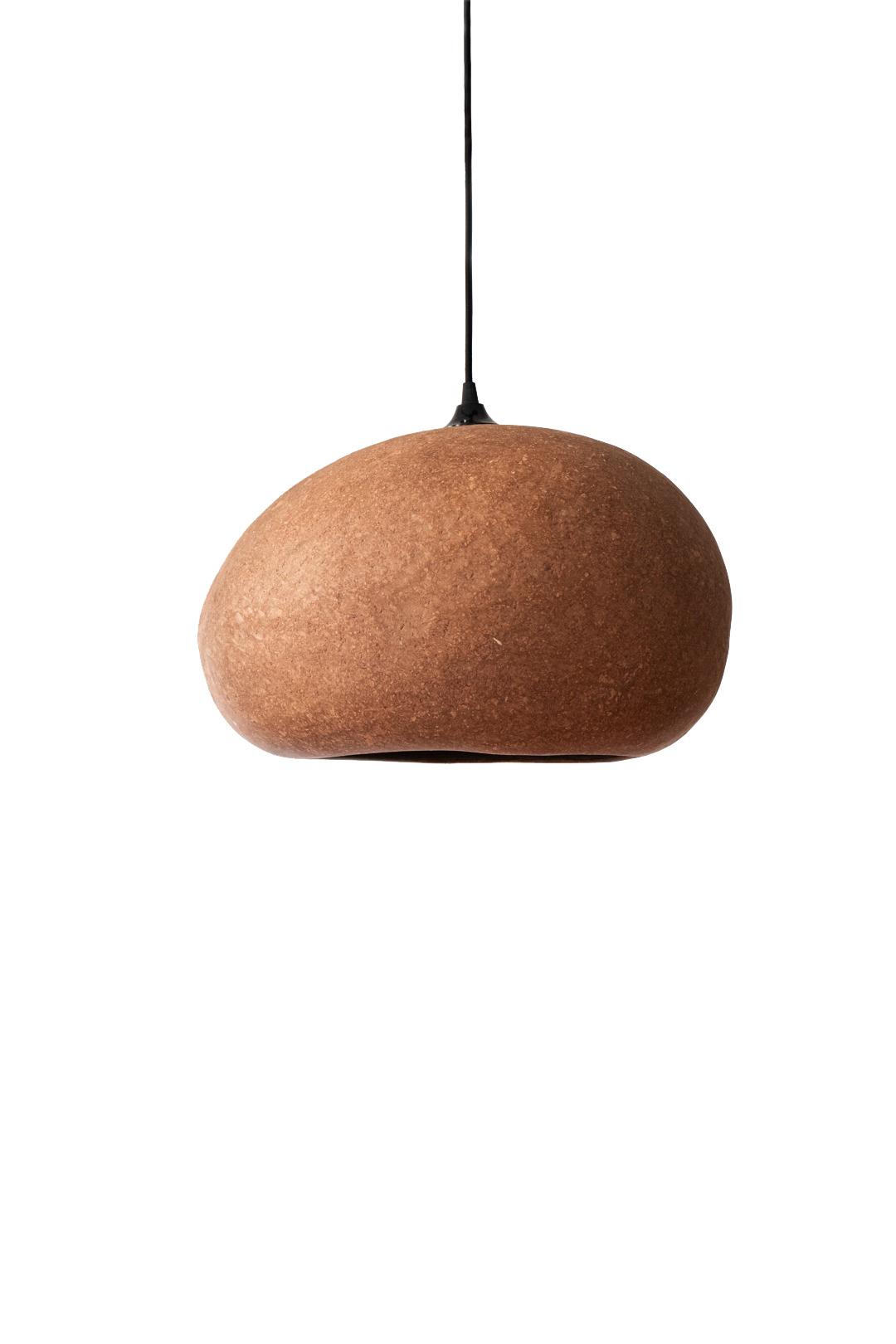 Ay Illuminate Lampe Suspension en Terracotta L - carton recyclé - 45x36x25cm - Ay illuminate