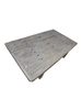 Petite Lily Interiors Raw wood coffee table -154x87x48 - Unique Item