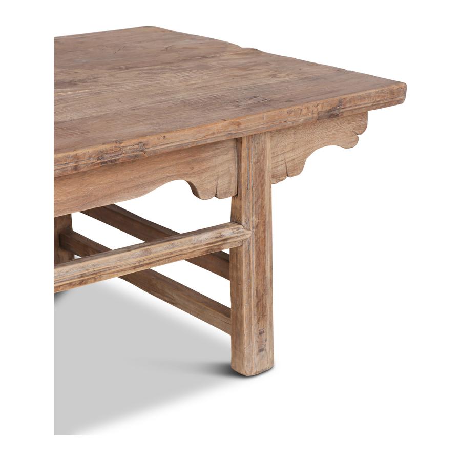 Petite Lily Interiors Raw wood coffee table - 190x77x45cm - Unique Item