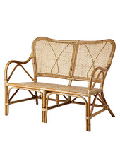 Affari of Sweden Bench in rattan RIVIERA - L108xW72xH85cm - Affari of Sweden