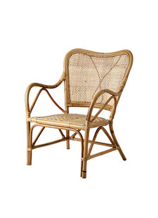 Affari of Sweden Rattan chair RIVIERA - Natural - L62xW74xH86 cm - Affari of Sweden