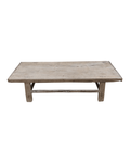 Petite Lily Interiors Raw wood coffee table - 143x62xh35cm - Elm Wood
