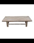 Petite Lily Interiors Table basse bois brut - 143x62xh35cm - Bois d'orme