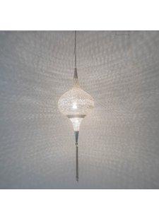 Zenza Lampe Suspension Grace - Laiton argenté - Zenza