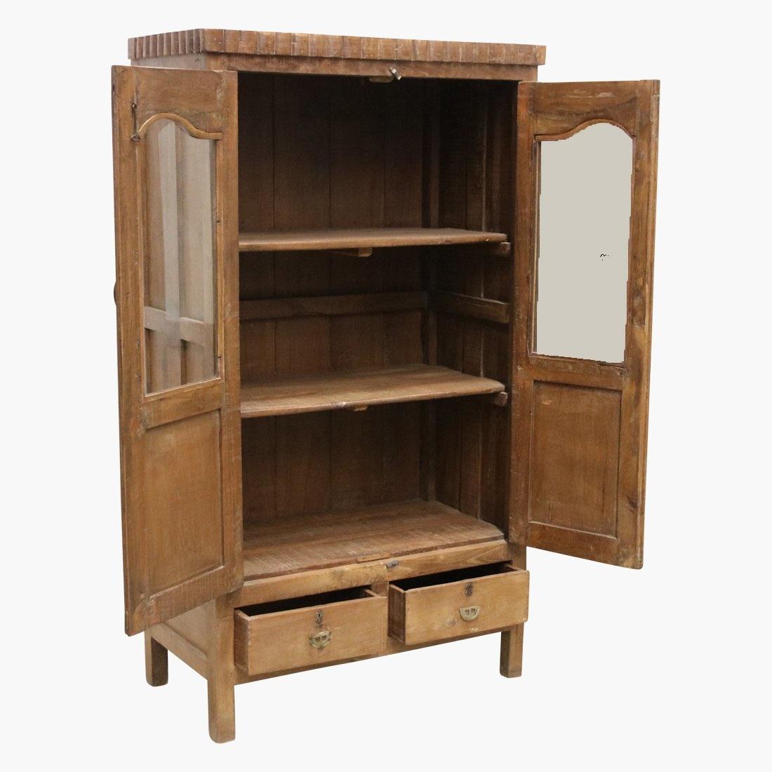 Petite Lily Interiors Cabinet India - wood - 91x56xh172cm - Unique Piece