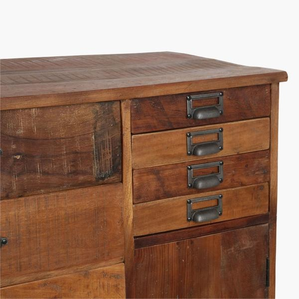 Petite Lily Interiors Factory cabinet / drawer - 90x46xH120 - Unique Piece