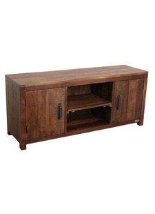 Petite Lily Interiors Meuble TV - bois naturel - 140x40xh60cm