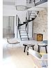 House Doctor Armchair Lounge Rattan Kawa - House Doctor