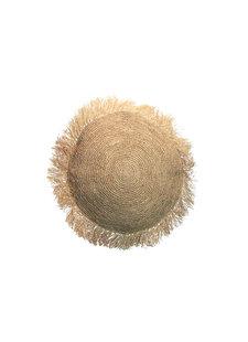 Bazar Bizar Cushion Raffia round - Natural - Ø40cm
