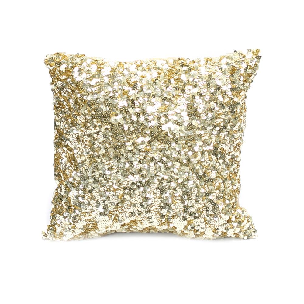 Bazar Bizar Cushion Glitter - gold - 40x40cm