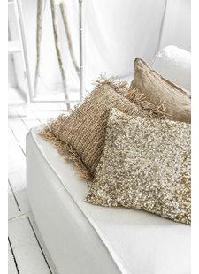 Petite Lily Interiors Coussin brillant doré - 40x40cm
