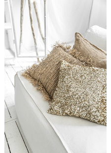 Petite Lily Interiors Cushion Glitter - gold - 40x40cm