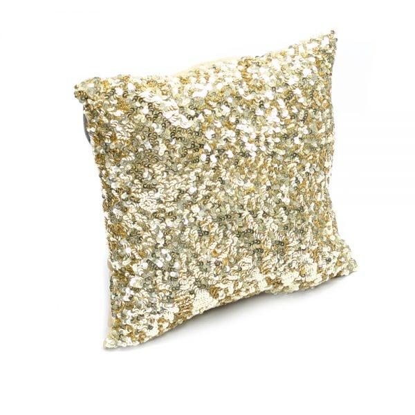 Petite Lily Interiors Cushion Glitter - gold - 40x40cm