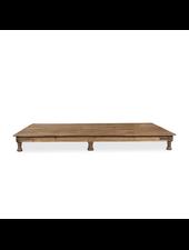 Petite Lily Interiors Indian coffee table wood -  220x125x23cm - unique item