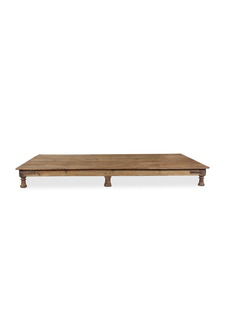 Petite Lily Interiors Indian coffee table wood -  220x125x23cm - unique item