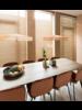 HK Living Lampe Suspension - corde - jaune - Ø70xh15cm - HK Living