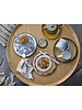 Bloomingville Scandinavian round coffee table Luana - Oak - Ø74xh37cm - Bloomingville