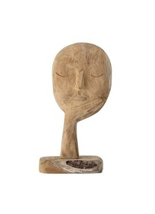 Bloomingville Decorative sculpture recycled wood - L18xH35cm - Bloomingville