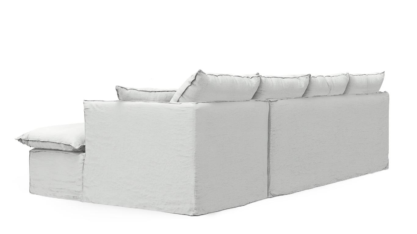 Petite Lily Interiors Linen Couch / Sofa - L273xH85xW95/160cm - custom handmade