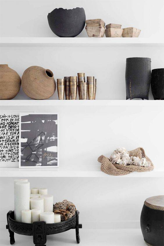 Petite Lily Interiors Table basse grinder indienne - bois - Ø74xh30cm - Pièce unique