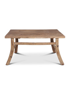 Dining room table recycled wood - 138x90x72cm