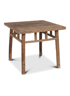 Petite Lily Interiors Dining room table recycled wood - 91x91x81cm