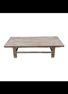 Petite Lily Interiors Table basse bois brut - 93x59xh30cm - Bois d'orme